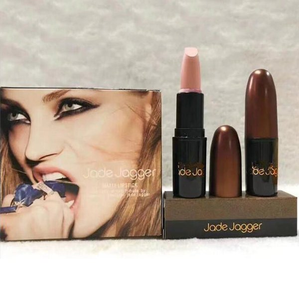 New Hot cosmetic Jade Jagger lipstick pigment 12 colors lipstick for 2018 new years and 2018 Valentine's Day Discount Price