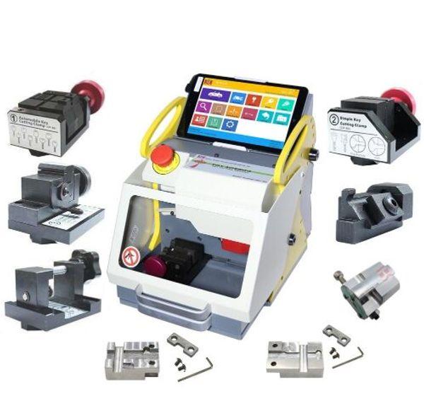 2018 Full Clamp SEC-E9 key cutting machine Modern Car Key Making Machine Professional Key Copy Machine with CE Approved Update Online