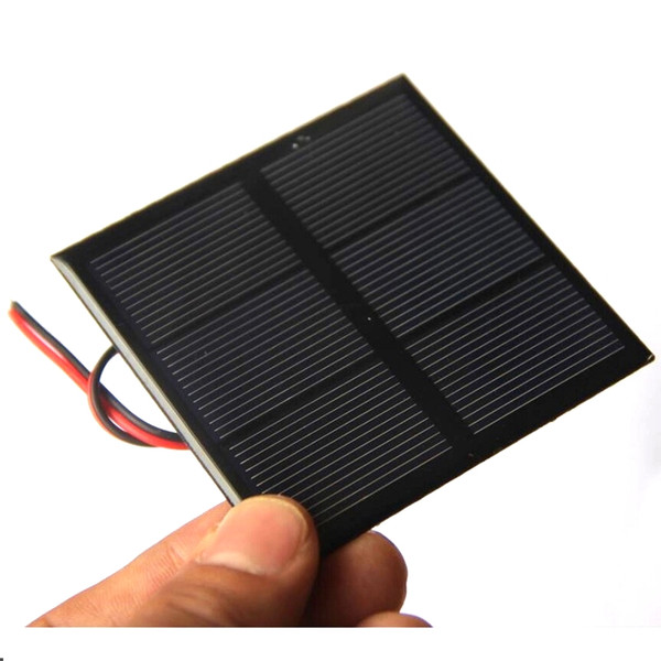 BUHESHUI 0.7W 1.5V Mini Solar Panel Polycrystalline Solar Cell DIY Solar Toy Panel 70*70MM+Cable/Wire Study 10pcs Free Shipping