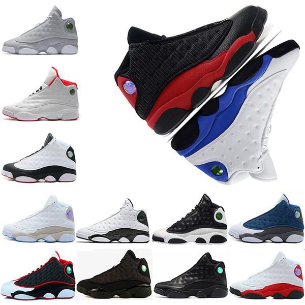 13 13s man basketball shoes for men tinker Royal blue pack game Phantom bred Chicago men sport sneaker designer Shoes trainers free shipping