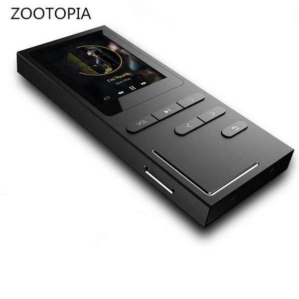 Hi-Fi MP3 Player Lossless Music Player 70 Hours Playback Build-in Speaker Voice Recorder / FM Radio Expandable Up to 64GB