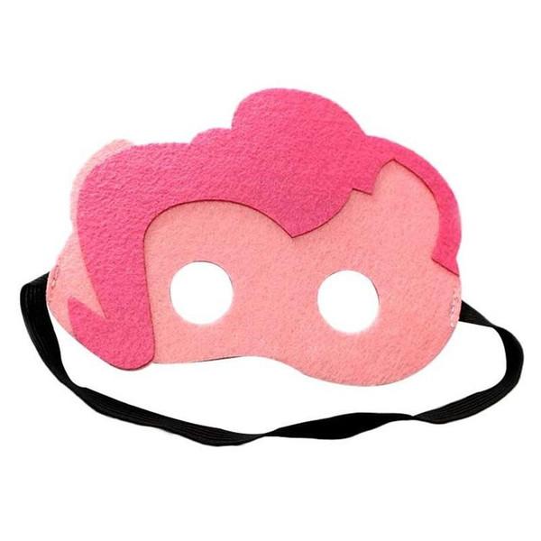 Kinder Maskerade Maske Cartoon Pferd Design 2 Schicht Halloween Cosplay Augenmasken Cosplay Für Festival Party 2 8dr ii