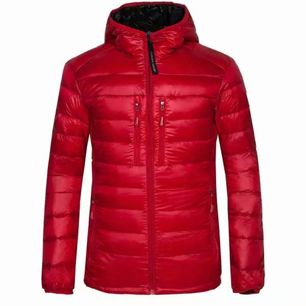 Hohe Qualität Neue Winter männer gänsedaunen puffer jacke Casual Marke Hoodies Down Parkas Warme Ski Herren Mäntel 200