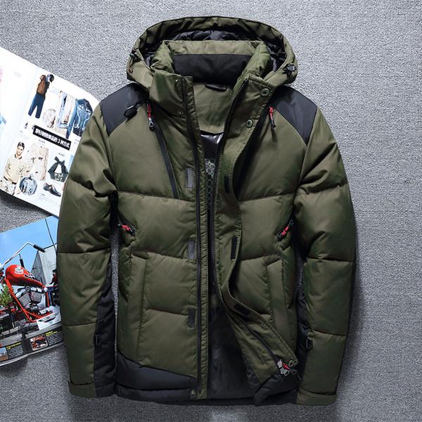 meilleur service ee642 814e0 2019 Men Down Jacket Chaqueta Plumas Hombre Invierno Men Down Coat Doudoune  Homme Duvet De Canard Chaquetas Hombre Plumas From Beenlo, $120.49 | ...