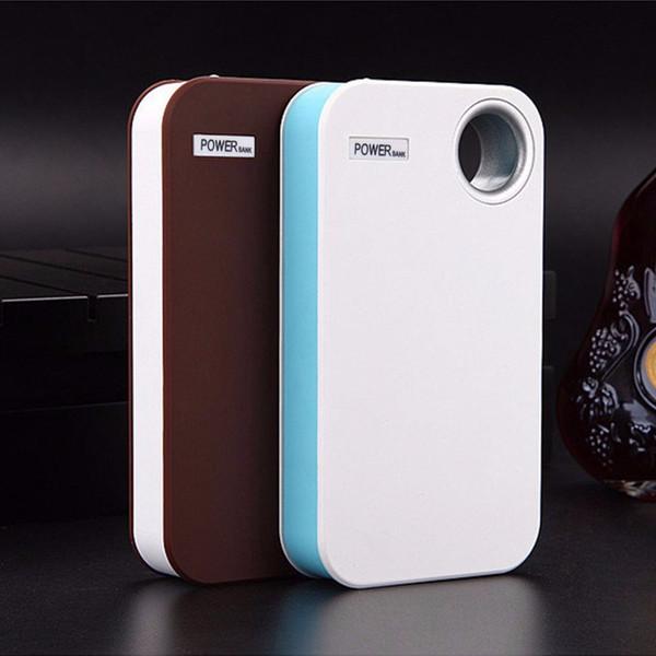 Fai da te USB Banca mobile di potere del caricatore di caso Pack 5 * 18650 Battery Holder per il telefono