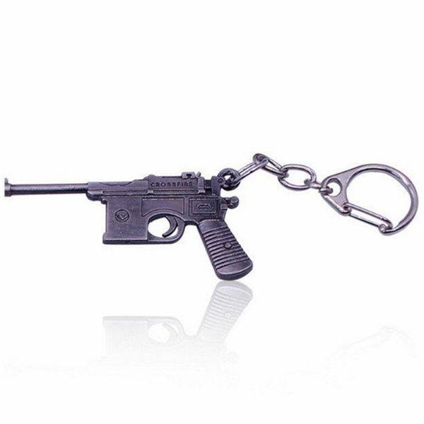 Online Game FireWire AK47CF Pistole Modell Schlüsselanhänger Gun Charms Weihnachtsgeschenke Tasche hängende Ornament Autoschlüsselring