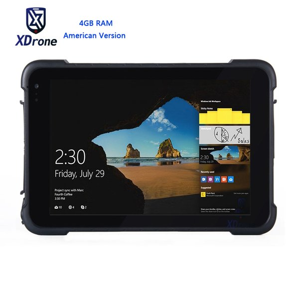 2018 K86H Windows 10 4G Tablet 4 GB RAM Wasserdicht Tablet PC Stoßfest im Freien Mobile Computer High Precision Truck GPS GNSS RTK