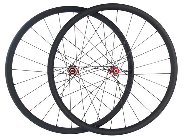 1385g SUPER LIGHT 29er offset MTB XC race 28mm asymmetric hookless mountain bike carbon wheels UD matte 2.5mm offset 29inch wheelset glossy