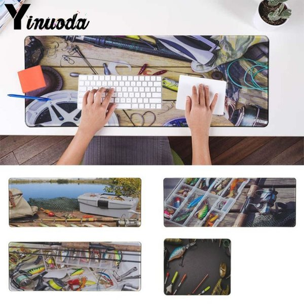Yinuoda Simple Design fishing fish Gear lures High Speed New Mousepad Size for 180*220 200*250 250*290 300*900 and 400*900*2mm