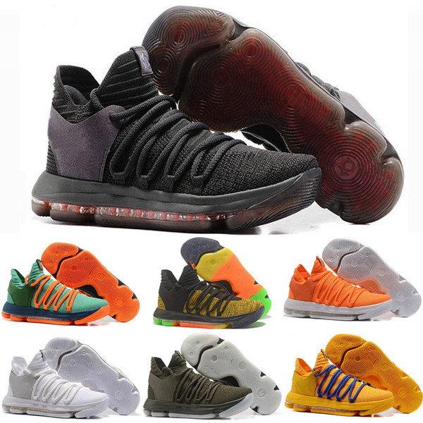 best service b5e74 aa0f4 New Zoom KD 10 Anniversary University Red Still Kd Igloo BHM Oreo Men  Casual Shoes Kevin Durant Elite KD10 Navy Shoes Blue Shoes From Oil  Painting ...