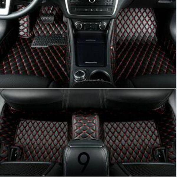 best selling Mercedes-Benz all models luxury custom waterproof floor mats 2005-2018