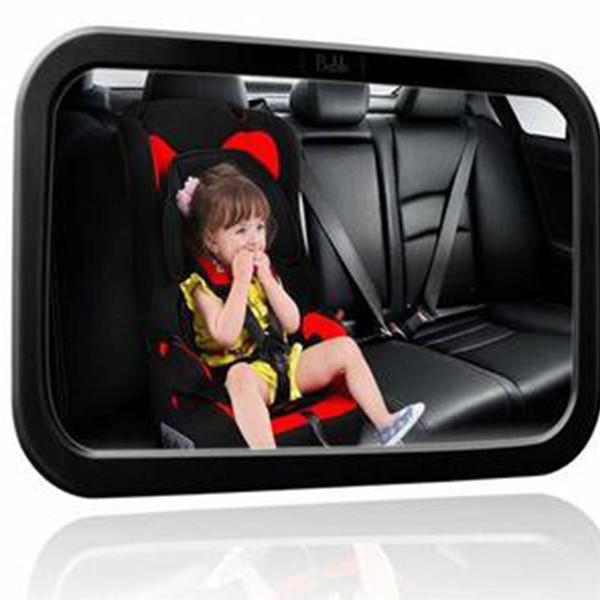 Spiegel Baby Auto.Car Back Seat Baby Safety Mirror Adjustable Baby Rearview Infants Spiegel Rear Ward View Auto Baby Interior Mirrors Automotive Interior Supplies