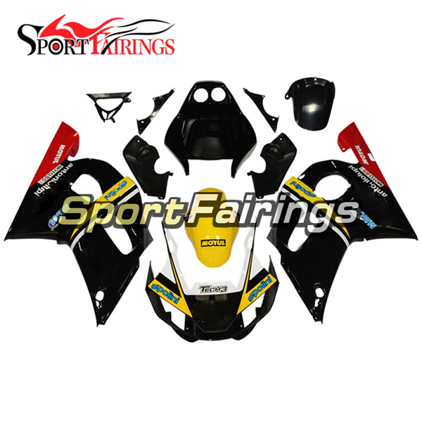 Black Yellow Red Motorcycles Full Fairings For Yamaha YZF600 R6 YZF-R6 1998 1999 2001 2002 Injection ABS Plastic Motorcycle Body Kit Covers