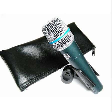 2 PCS /LOTS Top Quality and Heavy Body BETA57 Professional BETA57A Karaoke Handheld Dynamic Wired Microphone Beta 57A 57 A Mic