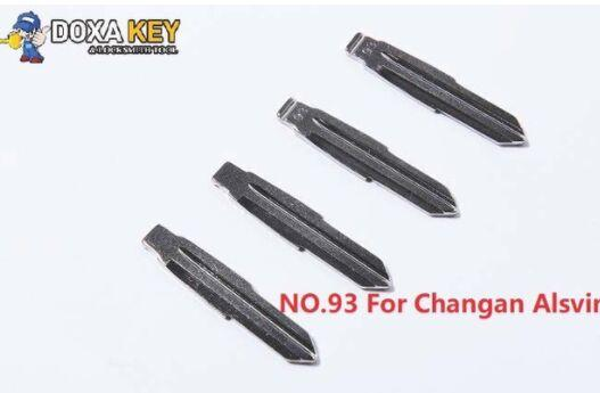 (5pcs) NO.93 Key Blade Replacement Flip Floding Blade Car key Blank For Changan Alsvin