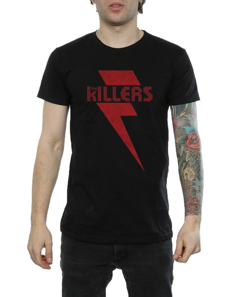 The Killers Men's Red Bolt T-Shirt Top Quality 2018 New Brand Men'S O-Neck Stylish