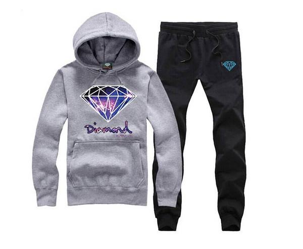 Trapacões e Castelos hoodies diamante Hoodie frete grátis hip hop camisolas de inverno terno de algodão suor camisola dos homens 02