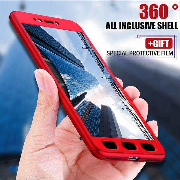 360 volle schützende telefon case für xiaomi redmi 4 x hinweis 4x volldeckung pc hard cover für redmi 5 5A hinweis 5A
