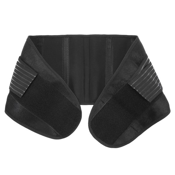 Lixada Waist Brace Support Adjustable Back Support Brace Lower Lumbar Belt Elastic Waist Straps Abdominal Wrap