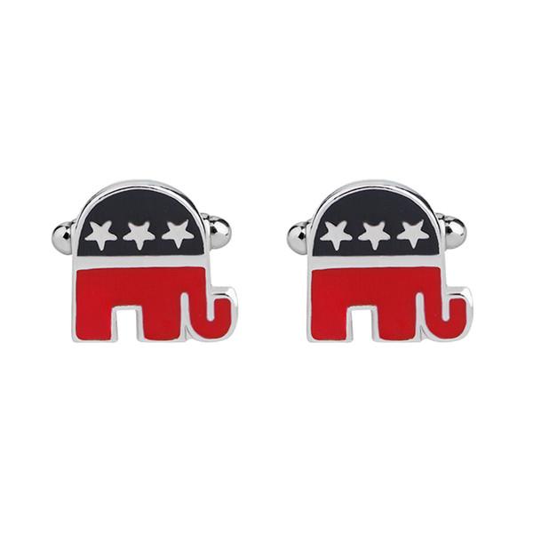 New fashion repubblicano elefante gemelli gemelli da sposa di alta qualità per gli uomini gemelli sconto vendite calde zj-0903935