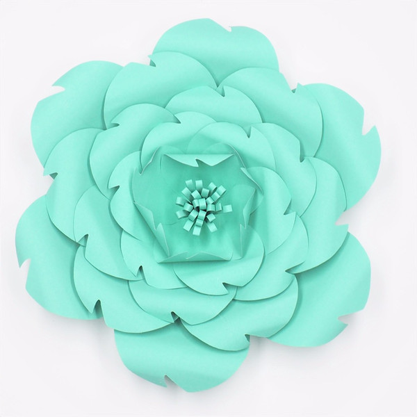 1 PCS Giant Paper Flowers Craft Supplies Nursery Wall Wedding Party Decor Bridal Shower Baby Photo Backdrop Large Flowers Wedding Arch