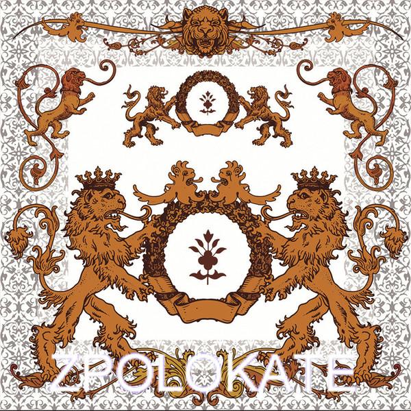 Coperta di flanella Coperta Leggera, accogliente divano letto, medievale araldico leoni Antica armatura vittoriana Vintage Old Simboli Sign Art