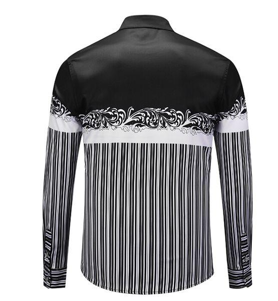 9739fada6 Camisa de vestir sólida de manga larga para hombre Regular Fit Cómodo  masculino Formal