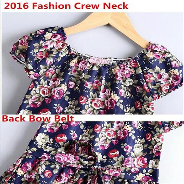 d63719898db8 2019 Hot Sale Summer New 2018 Style Girl Dress Baby Girls Print ...