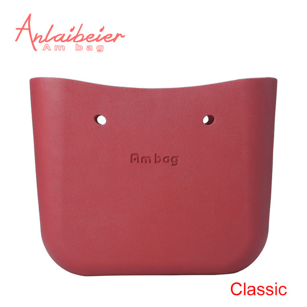 ANLAIBEIER Obag O Bag Style Classic Big Ambag Body Waterproof EVA Bag Women's Fashion Handbag Rubber Silicon Spare Parts