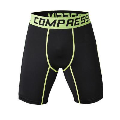 Al por mayor-Compresión de Camo Corriendo Hombres Pantalones cortos Absorbente ropa interior de secado rápido transpirable Hombres pantalones deportivos medias de baloncesto entrenamiento de fitness