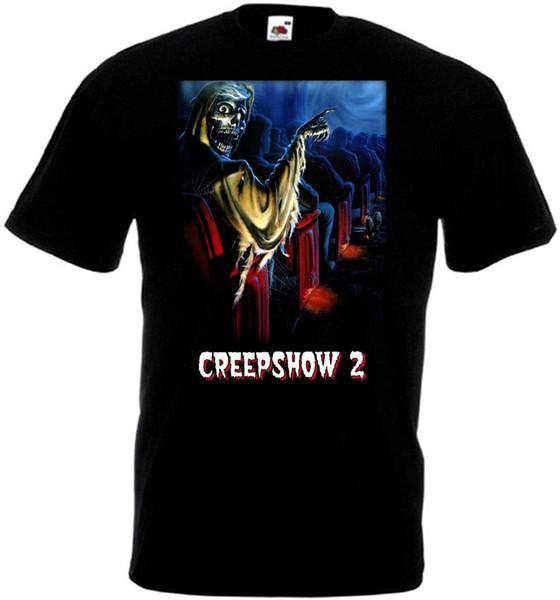 T Shirt Making Comfort soft Men Crew Neck Short-Sleeve Creepshow V3 T-Shirt Black Poster All Sizes S To 3XL Shirt
