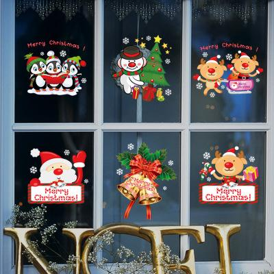 Wholesale Christmas New Year Theme Wall Stickers Wallpaper Wall Picture Art Room Home Decor Kitchen Accessories Household Crafts Suppllies