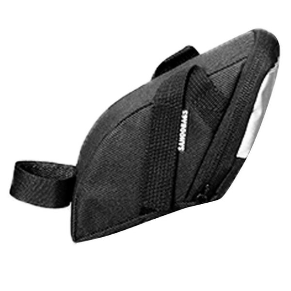 Bicycle Bag Bike Waterproof Storage Saddle Bag for MTB Bike Cycling Saddle Seatpost Tail Rear Pouch with Warning light