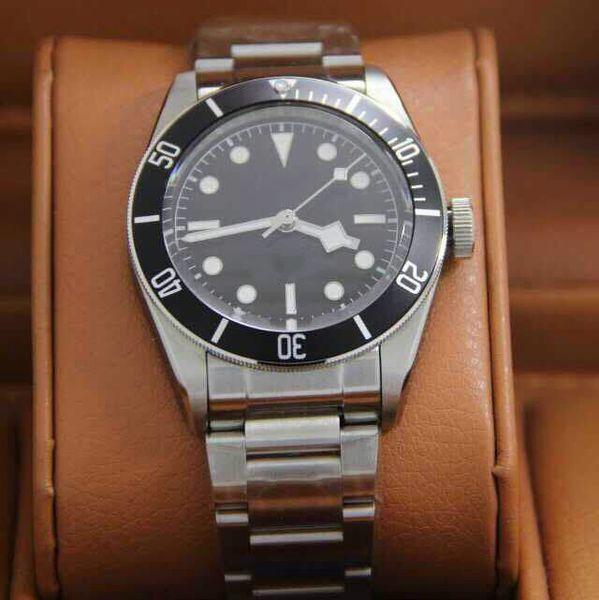 2018Hot Luxury Watch 41mm AAA+ High quality Brand Men's Wrist Watches Mechanical Movement Stainless Steel Sapphire Men Wristwatch Mens Watch