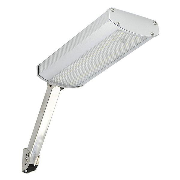 Solar Wall Lights 48leds Super Brightness 800lm White Light Waterproof IP65 Aluminum LED Solar Street Light with Mounting Pole