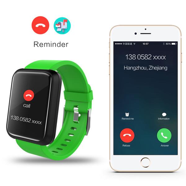 Fitness Smart Watch Men Women Phone Call Reminder Pedometer Bluetooth Large Screen GPS Touch Intelligent Sport Watch For Running