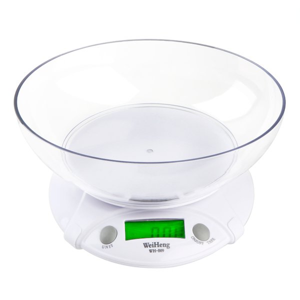 7KG * 1G Digital balance Kitchen Scale Electronic Weighing Scales Parcel Food Weight Balance for Kitchen with Bowl LCD Display