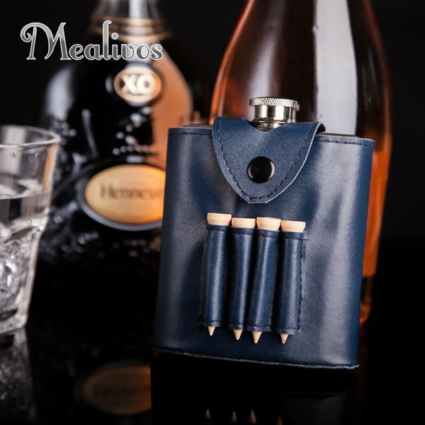 Mealivos Golf partner 6 унций 304 из нержавеющей стали виски фляга ликер бутыль ром водка алкоголь боле подарок jagermeister