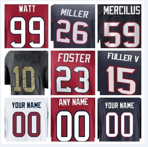 detailed look a18c6 b4f1d 2019 Houston Deshaun Watson Texans Jersey Custom Will Fuller DeAndre  Hopkins Authentic Sports Youth Kids American Football Jerseys 4xl Cheap  Xxxl From ...