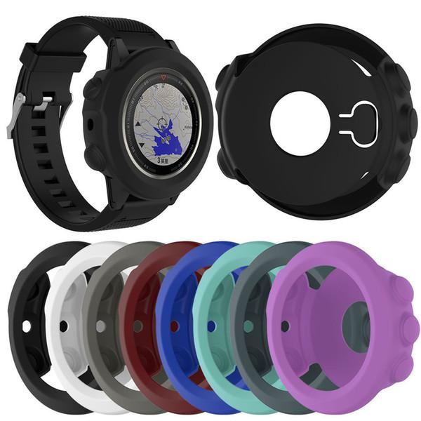 High-quality Silicone Protective Case Cover For Garmin Fenix 5X Wristband Bracelet Protector for Garmin Fenix 5X Smart Watch