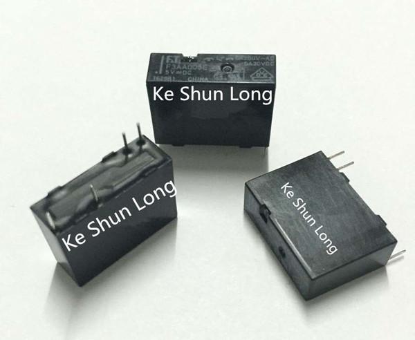 Lote de envío gratis (5 unidades / lote) Nuevo 100% original FT FTR-F3AA005E-HA FTR-F3AA005E F3AA005E 4PINS 5A 5VDC DC5V 5V Relé de potencia