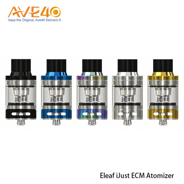 Eleaf iJust ECM Atomizer 4ml with 0.15ohm EC-M EC-N Coil 25mm Diameter E cig Tank Atomizer 100% Original