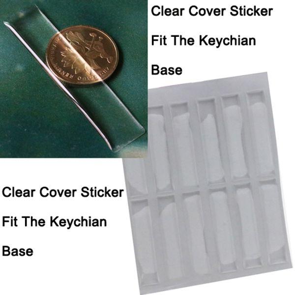 Etiqueta engomada de la cubierta de epoxy