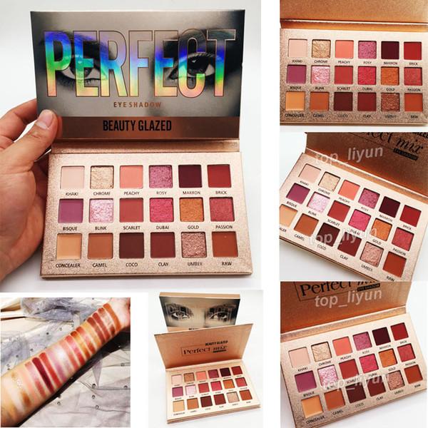 Factory Direct Beauty Glazed paleta de sombras de ojos perfecta 18 colores Maquillaje Sombra de ojos altamente pigmentada Sombra de ojos Cosmética nude