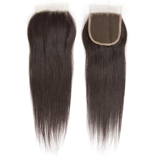 Großhandel Cosy 4x4 Schweizer Freies Mittleres Teil Spitzeschliessen Gerade Brasilianische Reine Haarkörperwelle Günstige Top Spitze Verschluss Zubehör Verlängerung