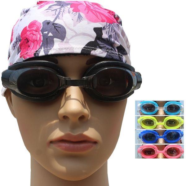 Swimming glasses 3 piece, swimming goggles + earplugs + nose clip, waterproof, anti fog.Adult Children 5 colors.