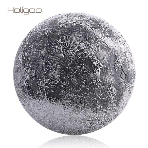 Holigoo Wand Mond Nachtlicht Innenbeleuchtung LED Lampe mit Fernbedienung Lichtsensor Mond LED Nacht Dekoration Schlafzimmer
