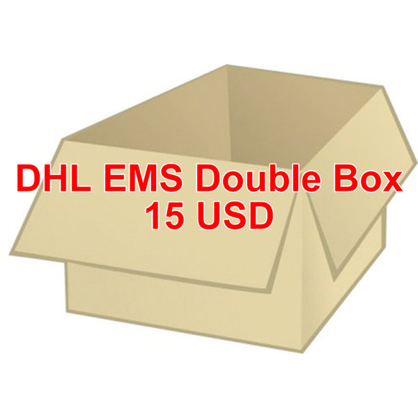 DHL EMS için çift kutu