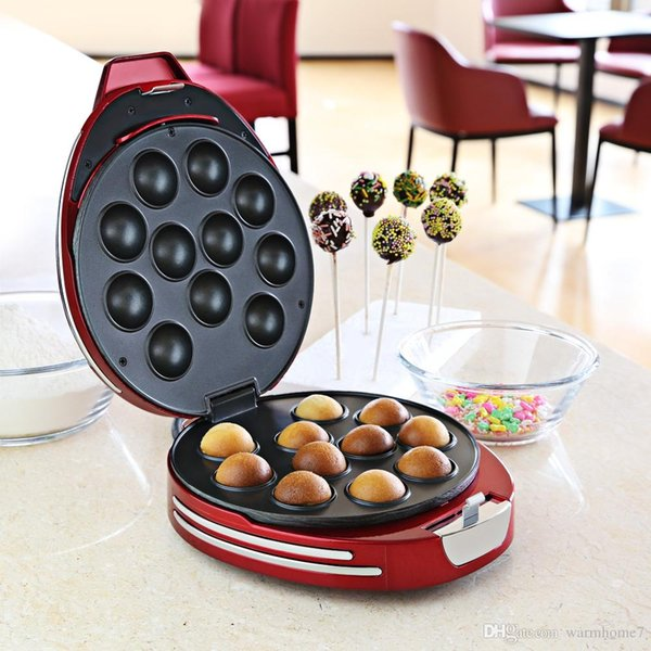 Cake Pop Maker NOSTALGIA ELECTRICS Donut Hole Cake Pop Maker per Cupcake Matrimonio Compleanno Party Hotel Home