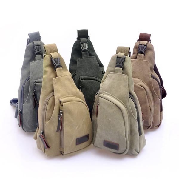 76d2514d80b THINKTHENDO Hot Sell Men'S Canvas Satchel Military Bag Vintage Cross Body  Handbag Messenger Shoulder Over The Shoulder Bags Hobo Handbags From ...